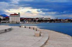 Seafront of Split old town, Croatia Stock Photos