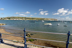 Seafront at Swanage Royalty Free Stock Image