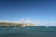 Seafront at Swanage Stock Photos