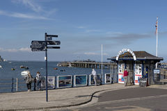 Seafront in Swanage Dorset UK Royalty Free Stock Images