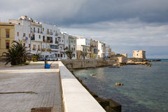 Seafront of Trapani, Sicily Stock Image