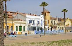 Seafront at Valencia, Spain Royalty Free Stock Photos