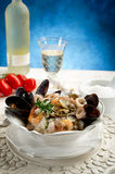 Seafruits risotto Stock Images