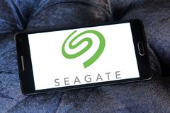Seagate technologii firmy logo Obraz Stock