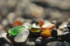 Seaglass Στοκ φωτογραφία με δικαίωμα ελεύθερης χρήσης