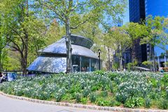 Free SeaGlass Carousel At The Battery Park In Lower Manhattan Royalty Free Stock Photo - 116982625