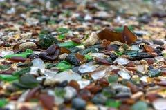 Seaglass strand - Bermuda Fotografering för Bildbyråer