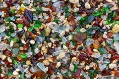 Seaglass strand - Bermuda Royaltyfri Foto
