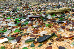 Seaglass strand - Bermuda Royaltyfria Bilder