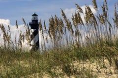 Seagrass obramia Hatteras latarnię morską Zdjęcie Stock