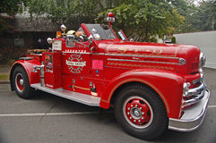 1954 Seagrave Fire Engine Stock Photos