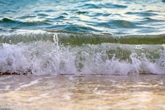 Seagreen wave Royalty Free Stock Images