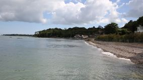 Seagrove Bay near Bembridge harbour Isle of Wight England Stock Images