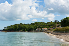 Seagrove Bay near Bembridge and St Helens harbour Isle of Wight Stock Photography