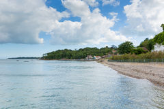 Seagrove Bay near Bembridge and St Helens harbour Isle of Wight England Stock Photo