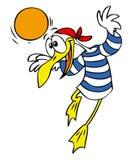 seagull κινούμενων σχεδίων Στοκ εικόνα με δικαίωμα ελεύθερης χρήσης