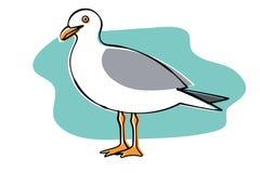 Seagull Ilustracji