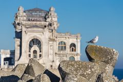 Constanta famous Casino building Royalty Free Stock Image