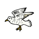 Seagull illustration Royalty Free Stock Images