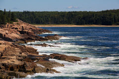 Acadia National Park coastline Stock Photos