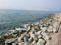 Seagulls στους βράχους στοκ φωτογραφία με δικαίωμα ελεύθερης χρήσης