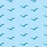 Seagulls are flying Royalty Free Stock Images
