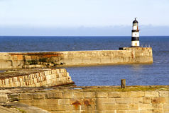 Seaham Harbour Lighthouse Stock Photos