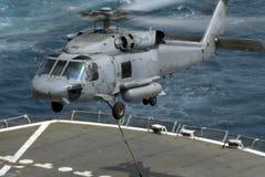Seahawk no trabalho 2 Fotografia de Stock Royalty Free