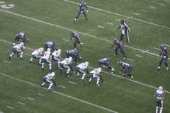 Seahawks de Seattle contra New York Jets Fotos de archivo