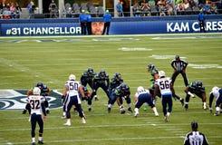 Seahawks de Seattle contra New York Jets San Diego Chargers Fotografía de archivo