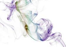 Seahorse - serie del fumo (1) Immagini Stock Libere da Diritti