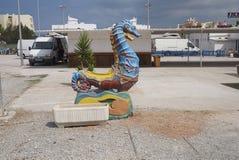 Seahorse toy Royalty Free Stock Photos