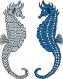 Seahorse wektoru ilustracja Zdjęcie Stock