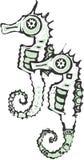seahorses 2 Стоковые Изображения RF