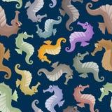 Seahorses en el boho del estilo Fotografía de archivo
