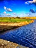 Seahouses-Golfplatz Stockfoto