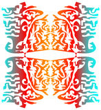 Seaimless graficzny skład na białym tle Fotografia Royalty Free
