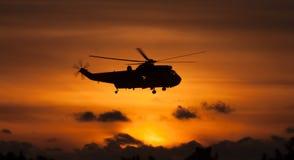 Seaking helikopter Zdjęcia Stock