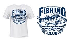 Free Seaking Perch Fish T-shirt Print Stock Photos - 192495473