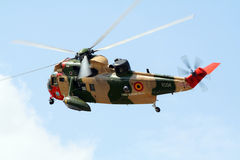 Seaking rescue helicopter Royalty Free Stock Images