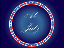 Seal of 4th July Stock Images