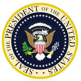 Seal总统 免版税库存照片