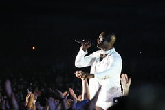 Seal. During the 2008 System Tour Stock Images