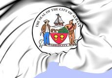 Seal of Albany, USA. Stock Photos
