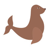 Seal animal icon. Over white background. vector illustration vector illustration