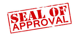 Seal of approval Stock Images