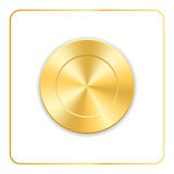 Seal award gold icon Stock Photography