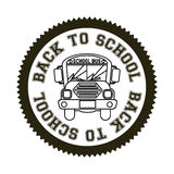 Seal back to school Stock Images