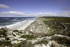 Seal Bay - Kangaroo Island. View across Seal Bay - Kangaroo Island - Australia Stock Photos