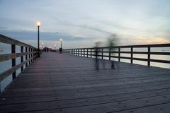Seal Beach Pier Royalty Free Stock Photo